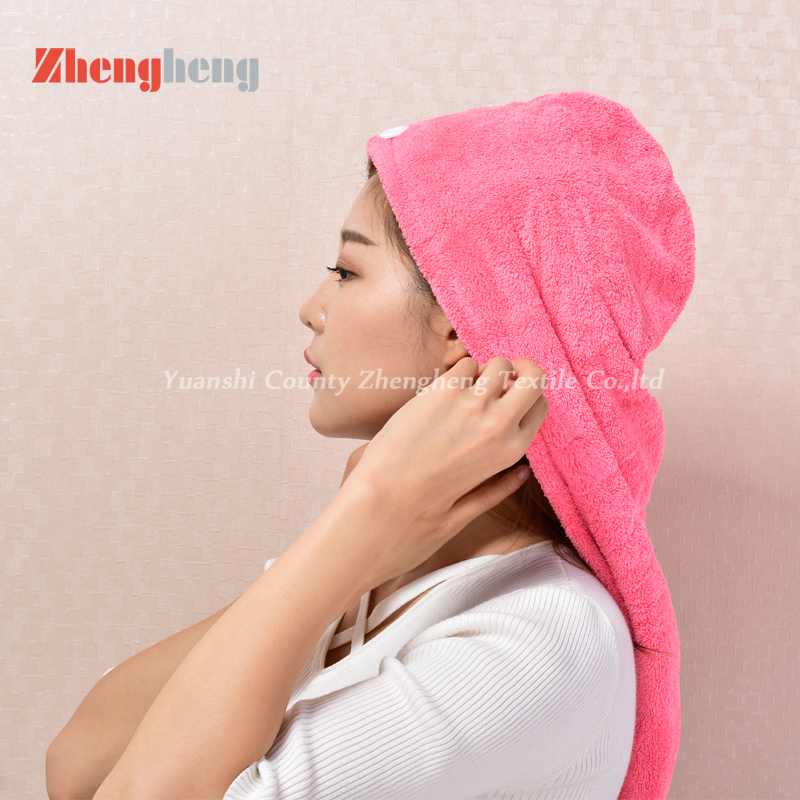 Coral Fleece Hair Cap (11)