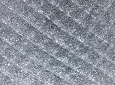 Fe-Gr-Al fiber sintered felt filter media