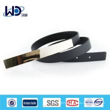 Golden buckles 2cm width PU Dressy belts
