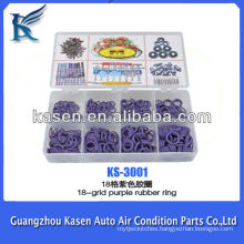 18-grid purple automotive rubber seal ring