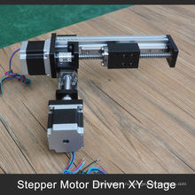 Бренд ФУЮ 100 до 1000мм тактный моторизованный XY таблицы для рукоятка промышленного робота