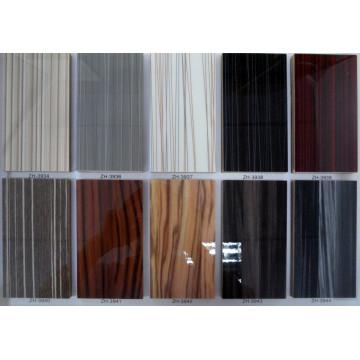 1 High Glossy UV Wood Grain Board for Kitchen Cabinet Door