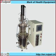 Fermentateur de verre pour l'utilisation du laboratoire