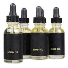 Los nuevos hombres al por mayor del diseño les gusta el aceite orgánico 100% de la barba de la botella orgánica