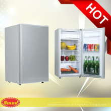 BC-92 Mini geladeira compressor geladeira porta única geladeira