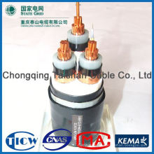Factory Wholesale 15kv 3x240mm mv xlpe cable