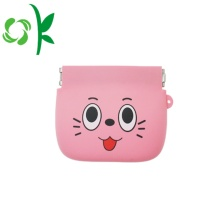 Silicone Coin Purse Wallet with Customized Logo Printing