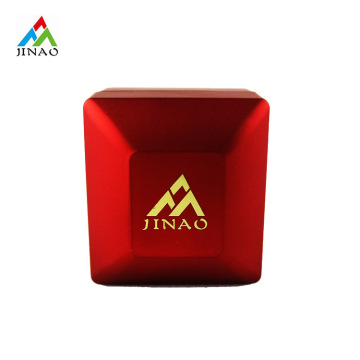 Kunststoff LED hellrot Ring Box