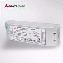 etl ul TRIAC/ELV dimmable 110vac 12/24vdc 30w led driver/transformer