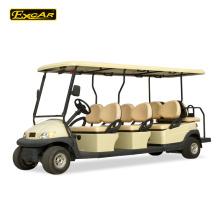 Carro de golf barato de encargo del carro de golf de 8 seater para el coche de turismo eléctrico de la venta