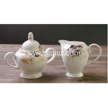 Ceramic European design tea sets