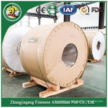 На заводе контейнер из алюминиевой фольги Jumbo Roll High Grade