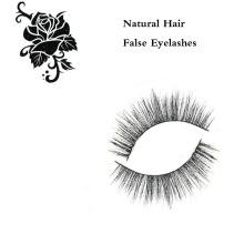 Soft Natural Hair Handmade False Eyelashes Mfe2001