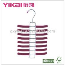 Набор из 3шт EVA пена покрытием металлической вешалки с 16racks