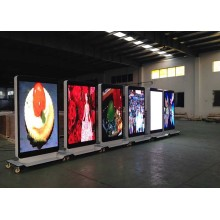 Good Quality for Led Poster Display Digital  High Greyscale Advertising Indoor LED Screen export to South Korea Wholesale