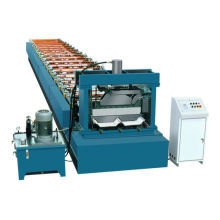 Portable Automatic Color Sheet Roof Roll Forming Machine Hydraulic Cut For Building Trades