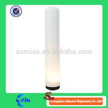 inflatable cylinder lighting tube inlatable light column for advertising