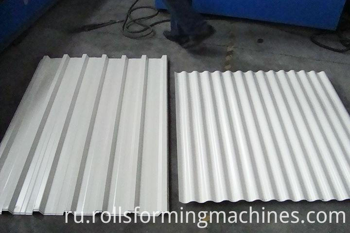 double layer roll forming machine(24)