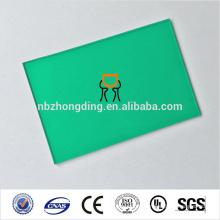 feuille de données polycarbonate UV insonorisée, feuille solide en polycarbonate