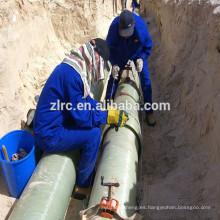 Tubería resistente a la corrosión FRP / GRP para agua o aceite