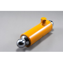 Putzmeister concrete pump plunger cylinder swing lever