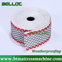 100 % polyester matelas ruban bord matériel