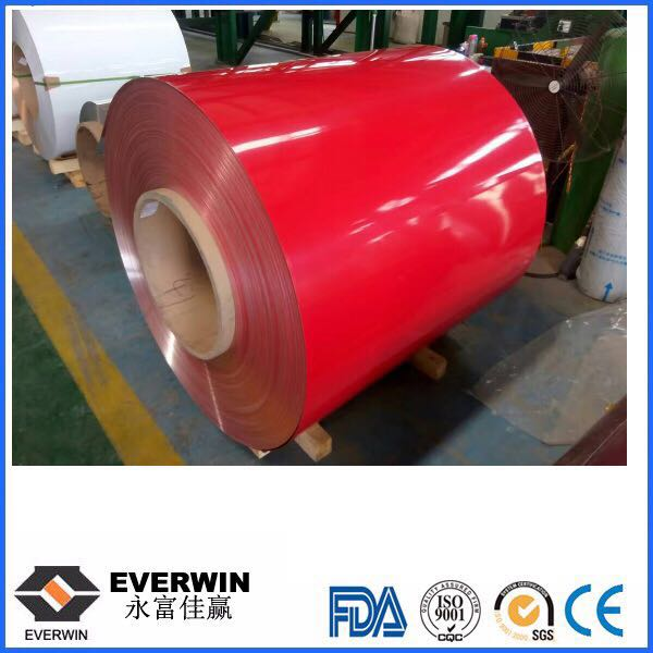 Red Color Aluminum Sheet