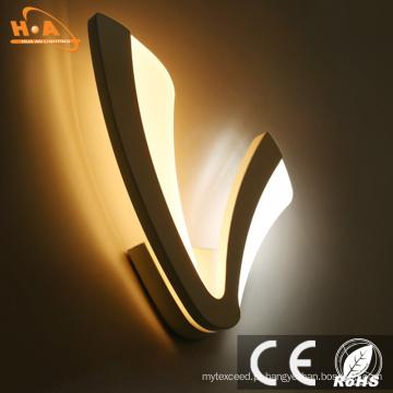 Lâmpada de parede popular européia do diodo emissor de luz do estilo 10W para a leitura do quarto