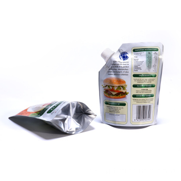 Embalagem para alimentos Maionese Stand Up Pouch Bouch