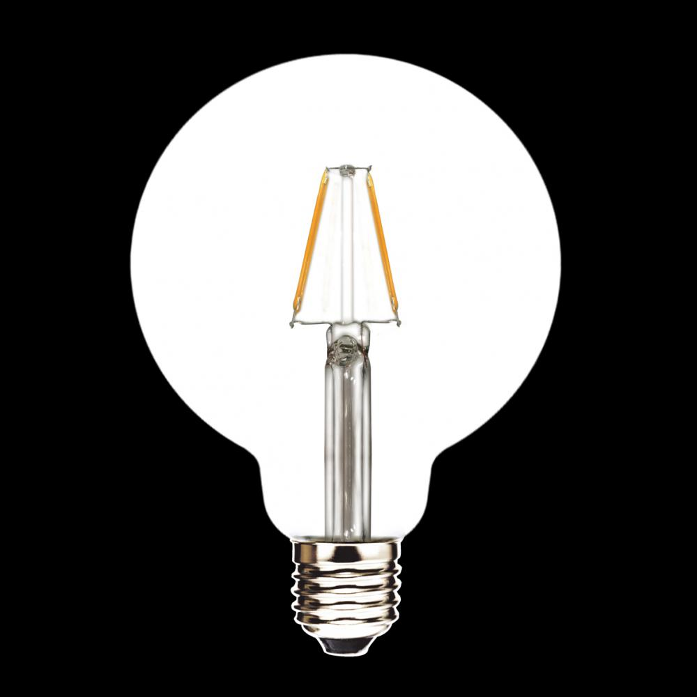LED Filament Lamp G95 2W 4W