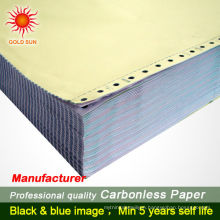 Personalized ncr carbonless duplicate invoice book printing