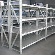 Light Duty Warehouse Rivet Boltless Shelving Power Coated Rust Proofing