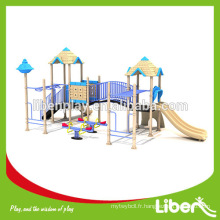 Children Commercial Outdoor Playground Big Slides à vendre, Soft Play Games Area Zone Equipment