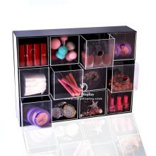 Caixa personalizada de estojo para coleção de acrílico transparente