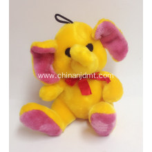 Pet toy with elephant shape