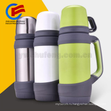 Принятый Логос сталь открытый бортовой бутылка из нержавеющей большой емкости супер изоляции термос вакуумной чайник термос