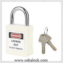 25mm Shackle Safety Padlock