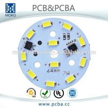 Placa de alumínio do PWB, PCB do diodo emissor de luz de SMT, 516000USD Trade assurance