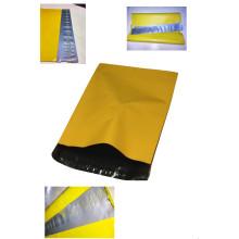 Sachet en plastique de Pcolor fait sur commande de LDPE avec le joint auto-adhésif