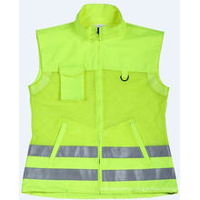 High Visibility Safety Vest in Reflective Material