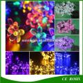 Pfirsichblüte 20/30/50 LED Solar String Lampe Dekorative Garten Rasen Patio Weihnachtsfeier Solar Licht