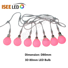 3D Addressable RGB Led Point 전구 램프