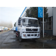 Dongfeng 4x2 rear loader compactor garbage truck
