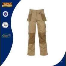 Прочный полиэстер / хлопок Мужские тактические брюки для боя с конструкцией Cordura