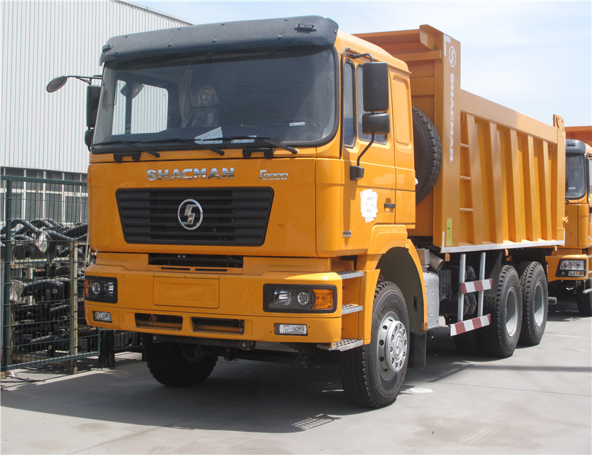 Shacman 6X4 336 HP dump truck for sale with weichai engine shacman dump truck price