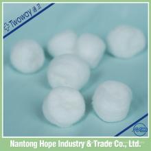 100% coton stérile ou non stérile coton jetable, bon absorbant,