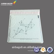 Оптом купить белый поли пузырь конверты мягкий конверт с логотип печати