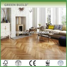 Plancher de chevrons d'art stratifié de plancher de bois d'ingénierie