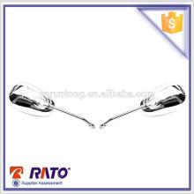 Espejo de acero del cromo del lado de la motocicleta del precio de fábrica para la venta para HJ25K-3A