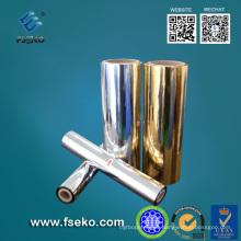 Película metalizada MPET para laminación en caliente (24mic)